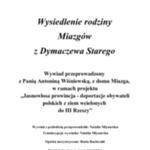 Wywiad z Antoniną Wiśniewską z d. Miazga