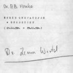 Fotografie i materiały dotyczące: obozu przesiedleńczego w Młyniewie, życia codziennego w okresie okupacji w Grodzisku Wielkopolski oraz postaci dr. Antoniego B. Henkego